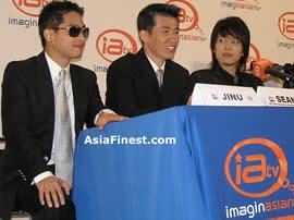 Se7en Jinusean Press Conference NY
